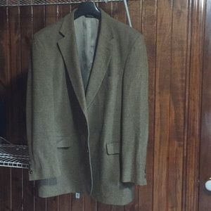 Jos A Bank tan wool sport coat